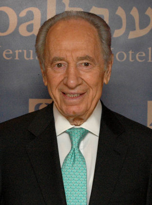 Shimon Peres Prsident of Israel and former Prime Minister