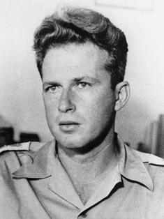Yitzhak Rabin in 1948
