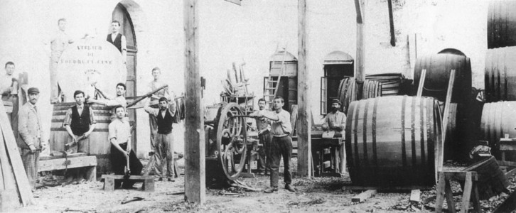 Zichron Yaakov in Israel winemaking barrel ship in the 19th century