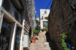 Safed in Northern Israel